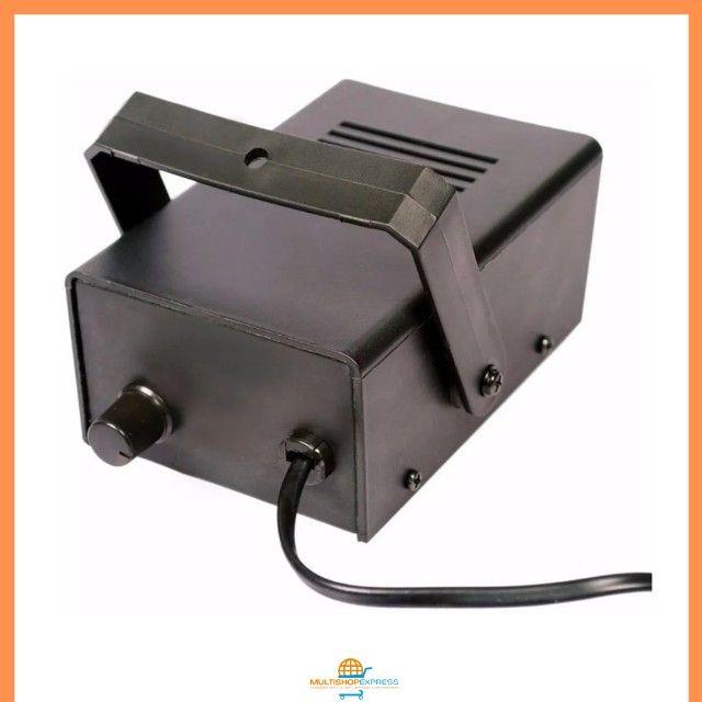Mini Strobo Flash Projetor de Luz para Festas Balada DJ - Foto 5