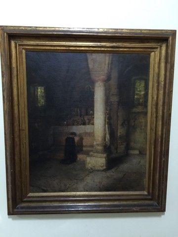 Pintura a óleo de Rubens Santoro