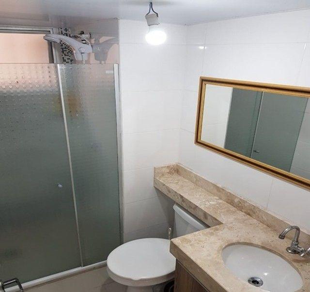 Apartamento com 3 quartos semi mobiliado no_Fazendinha - Foto 9