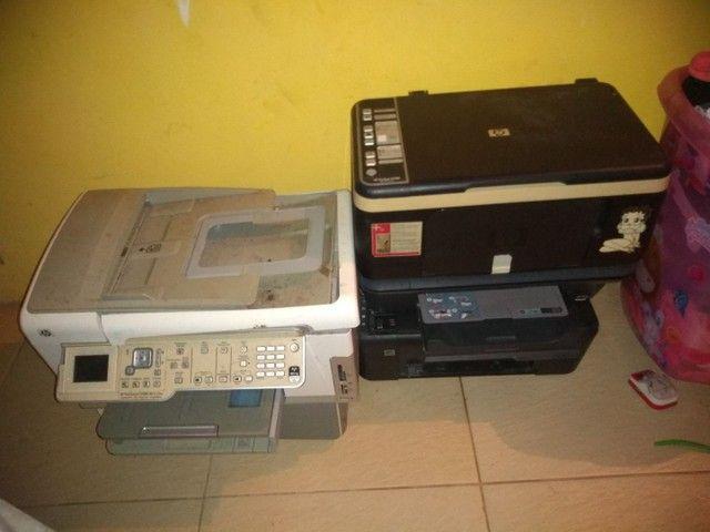 Impressora pra retirada de peças