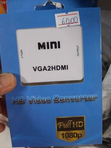 Adaptador VGA para HDMI  - Foto 3