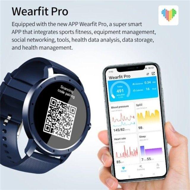 Smartwatch Howear HW21 Relógio Inteligente Com Frequência Cardiaca - Foto 5