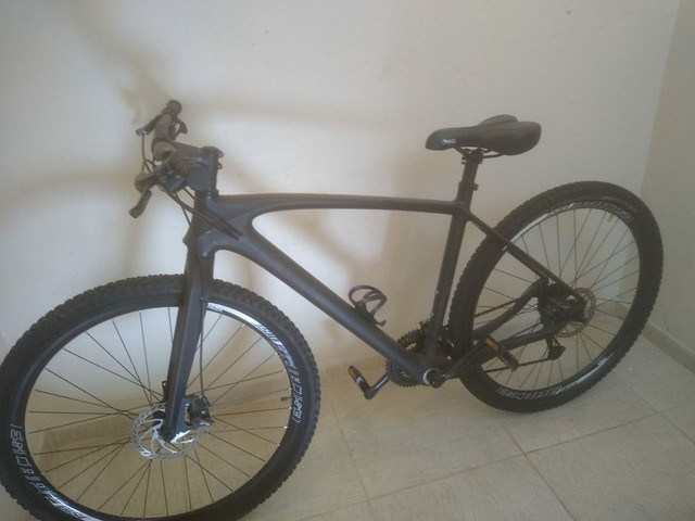Bike fibra de carbono fosco miracle, tam 21' aro 29' - Foto 2