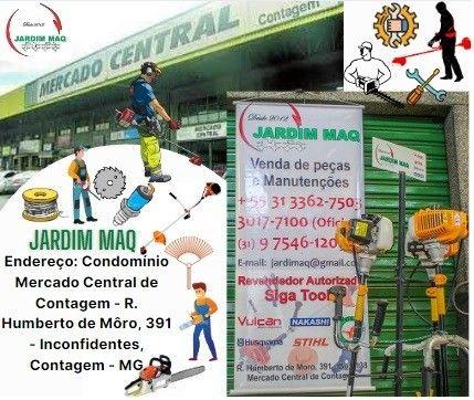 Roçadeira SH 52cc-Jardim Maq Vendas de Motosserras, Peças, Manutenção - Foto 4