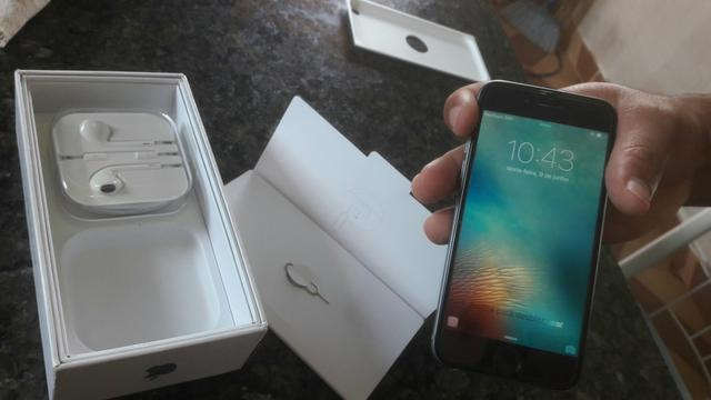 Iphone 6 64 Gb cinza 3 meses de uso