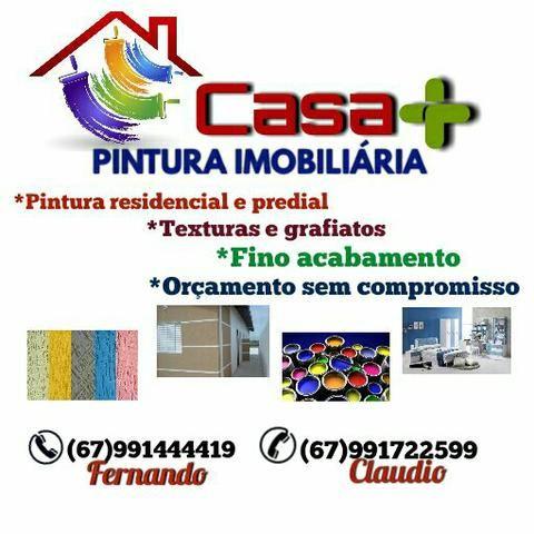 Casa + pintura imobiliária