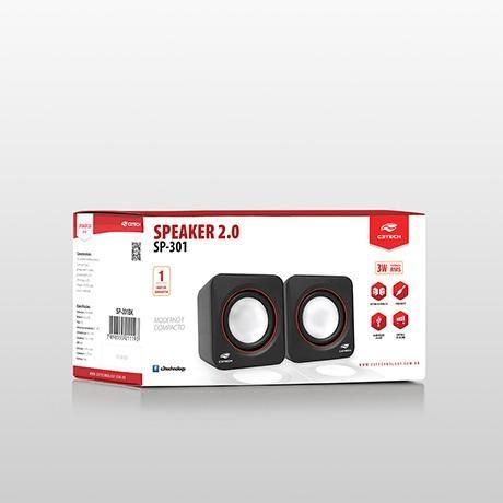 Caixa de Som C3Tech Sp-301
