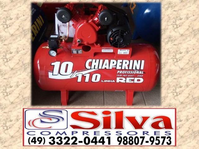 Compressor de ar 10 pés - Monofásico Chiaperini