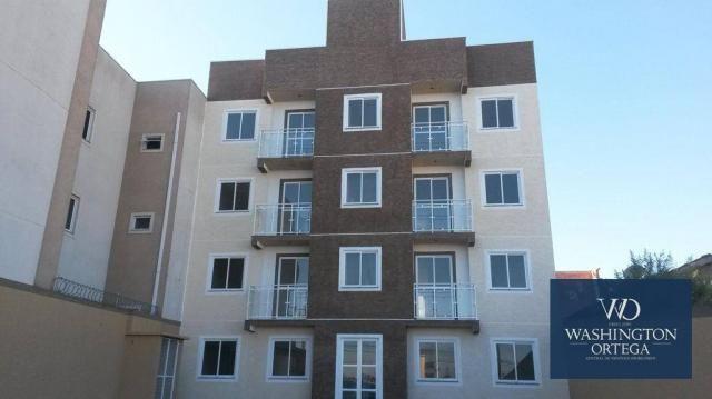 Apartamento à venda, 48 m² por r$ 165.000,00 - afonso pena - são josé dos pinhais/pr