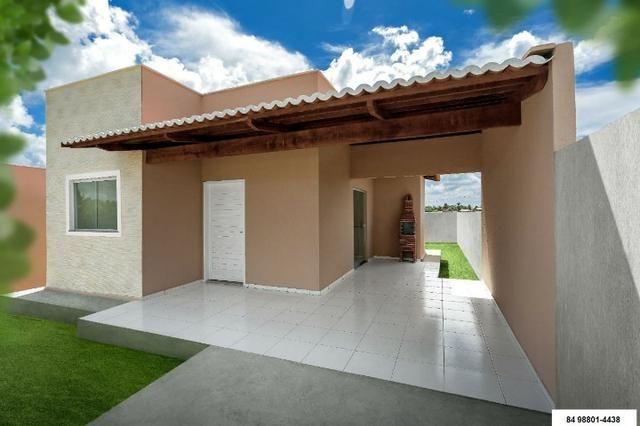Linda Casa 68m² 2Quartos na área que mais cresce na Grande Natal/ Documentação Gratuita