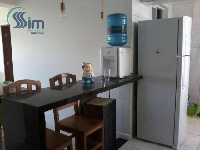 Excelente apartamento mobiliado na aldeota - Foto 10