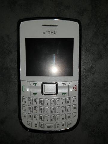 Celular semi novo com tv, rádio, aceita 4 chip - Foto 2
