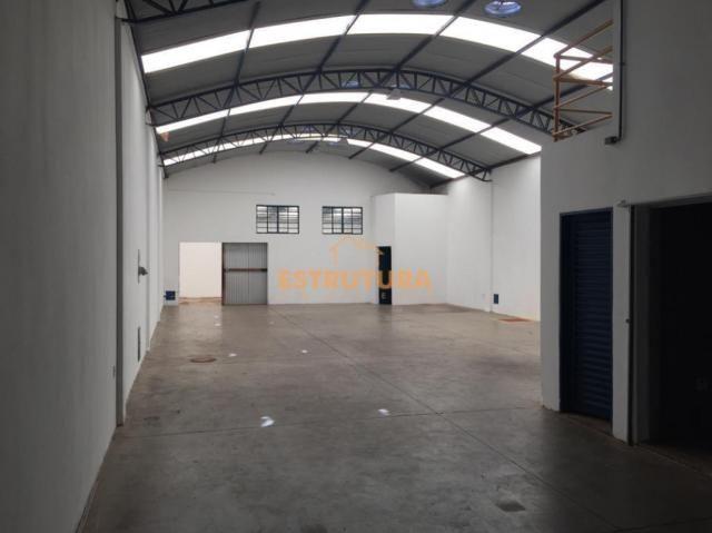 Barracão para alugar, 300 m² por r$ 2.500,00/mês - centro - ipeúna/sp - Foto 6