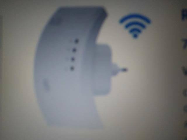 Repetidor de sinal de internet wi-fi wireless 300mpbs