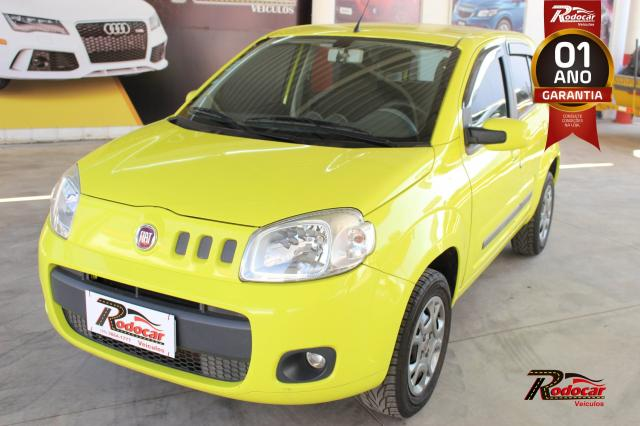 Fiat Uno Attractive Celebration 1.4 Amarelo