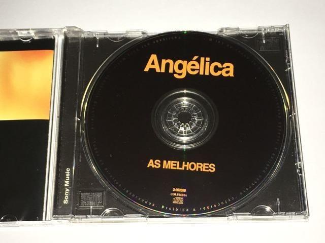 Cd Angélica - As Melhores - Vol. 2 - RARO - Foto 3