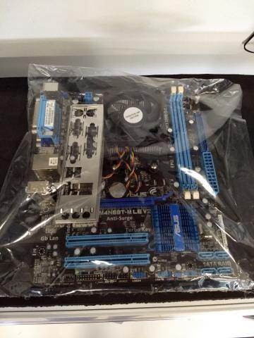 Kit placa mãe Athlon X2 dual Core 3.0ghz AM2 MB ASUS M4N68T-M