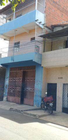 Vendo prédio de 3 pavimentos, c/8 kitinetes + ponto comercial, no Quintino Cunha - Foto 2