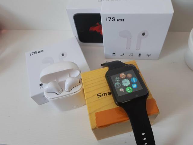 Relógio Smartwatch Com chip Whatsapp **Câmera Novo com Garantia - Foto 2