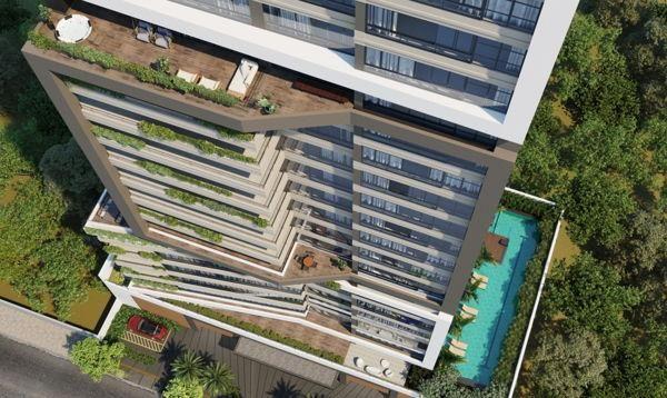 Apartamento  com 4 quartos no Residencial Vitreo - Bairro Setor Marista em Goiânia - Foto 2