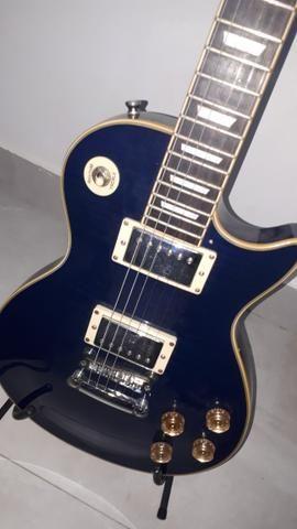 Guitarra les paul memphis tagima com cubo