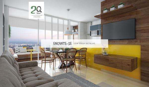 Apartamento  com 2 quartos no Varandas do Parque - Bairro Jardim Atlântico em Goiânia - Foto 4