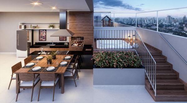 Apartamento  com 2 quartos no Residencial Brava Bueno - Bairro Setor Bueno em Goiânia - Foto 9