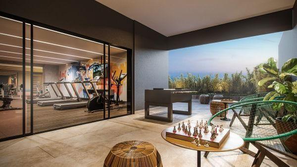 Apartamento  com 2 quartos no ELLO Vaca Brava - Bairro Setor Bueno em Goiânia - Foto 4