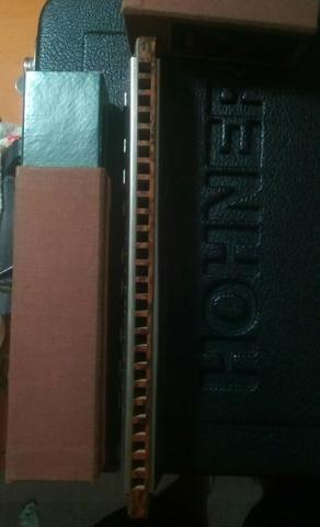 Gaita de boca Bass Hohner Polyphonia 7 - Foto 4