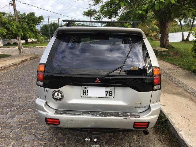 Oportunidade! Vendo ou troco Pajero ano 2002 turbo diesel 2.8 completa - Foto 5