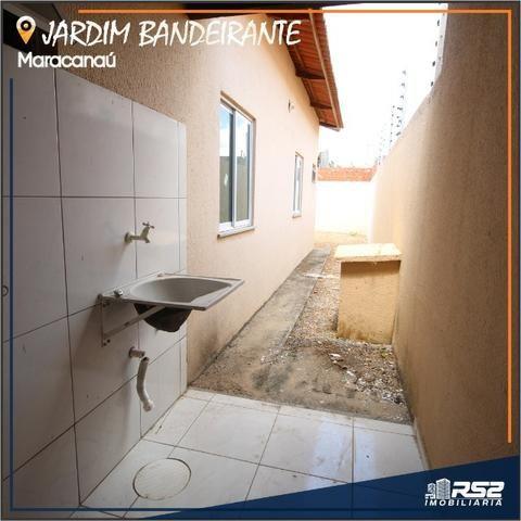 Casa Plana de 3 Quartos - Jardim Bandeirante - Documentos Inclusos - Foto 11