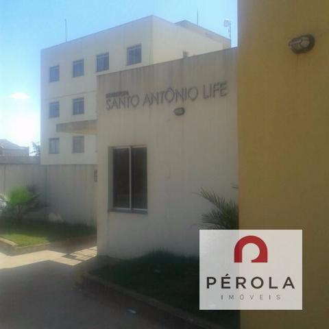 Apartamento  com 2 quartos no Residencial Santo Antonio - Bairro Parque Industrial Santo A - Foto 2
