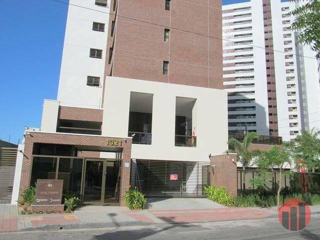 Apartamento com 3 dormitórios para alugar, 92 m² por R$ 2.100/mês - Papicu - Fortaleza/CE - Foto 2