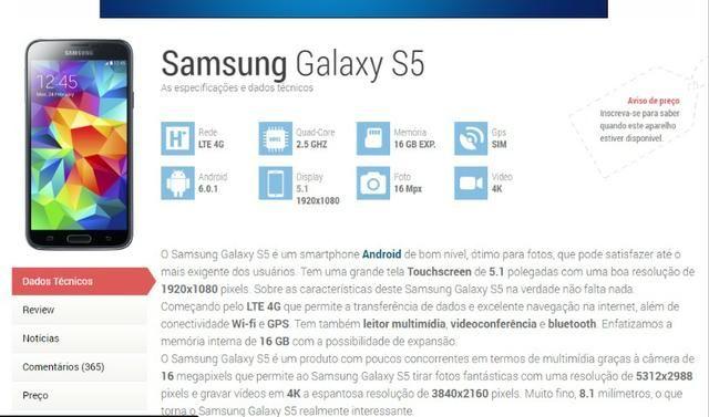 Galaxy S5(tela fantasma)Mas funciona normalmente - Foto 4
