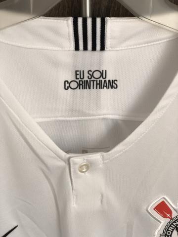 Camisa Nike Corinthians I 2018 19 Torcedor Masculina - Roupas e ... 3135c7d570730