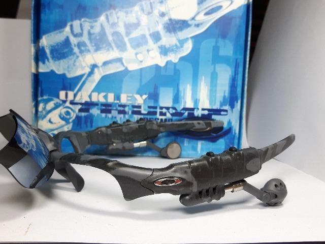 Óculos Oakley Thump Nightcamo Fones On!! + 1 par de lente ... 748409ec1b