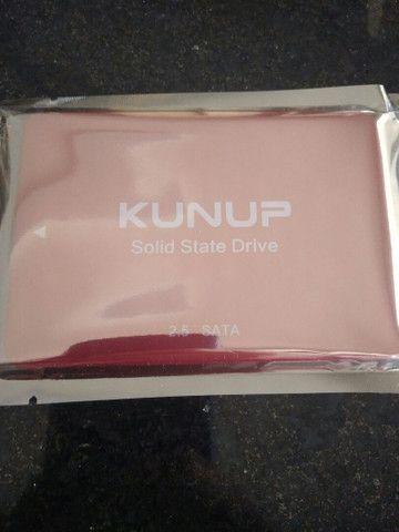 SSD 120gb Kunup vermelho