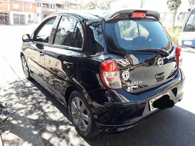 Nissan March Sr 1.6 Flex Ano 2014 Completo