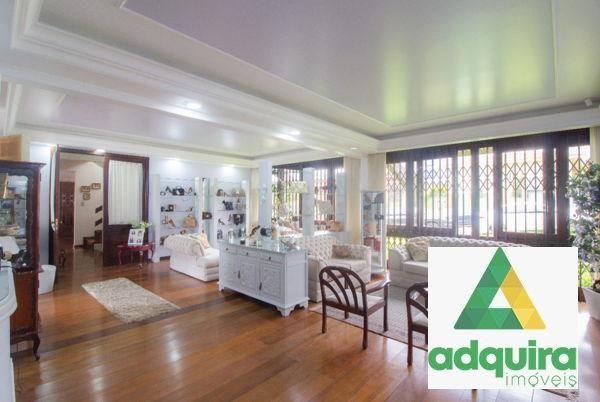 Casa com 4 quartos - Bairro Jardim Carvalho em Ponta Grossa - Foto 3