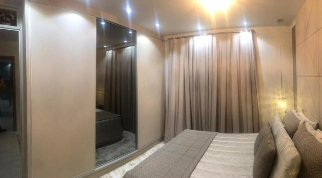 Apartamento todo mobiliado Ed Guiomar Rezende suíte+2quartos - Foto 3