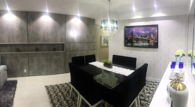 Apartamento todo mobiliado Ed Guiomar Rezende suíte+2quartos - Foto 15