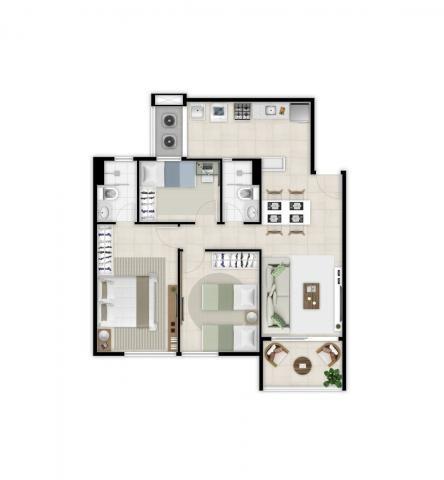 Apartamento à venda com 2 dormitórios em Benfica, Fortaleza cod:DMV10 - Foto 16