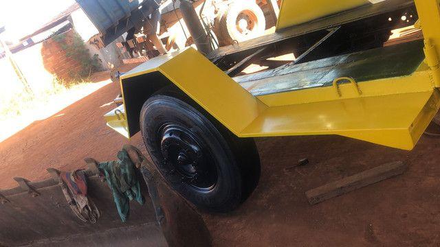 Fabricação de carreta para bobcat
