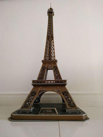 Quebra Cabeça 3D Torre Eiffel - Cubic Fun - Foto 2