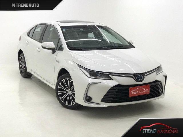 Corolla Altis Hybrid Branco perolizado 0km