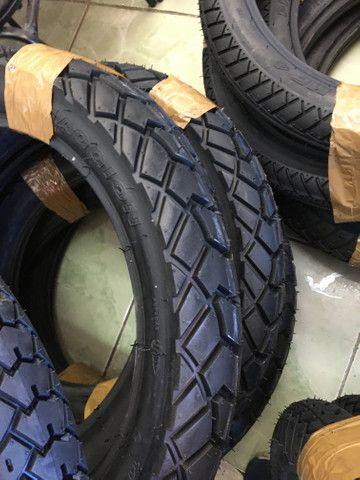 pneu traseiro bross crosser maggion 110/90-17 entregamos todo rio! - Foto 3