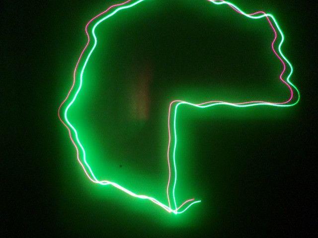 Laser Show 150mw Verde Vermelho NW-S-D012 Scanner Rg HL-22 - Foto 3