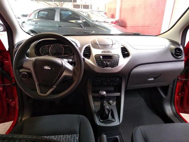 Vendo Troco e Financio Ford KA SE 1.0 2015 completo 58 milkm - Foto 10