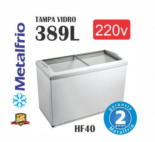 Freezer Tampa de Vidro para Sorvetes Metalfrio - Foto 2