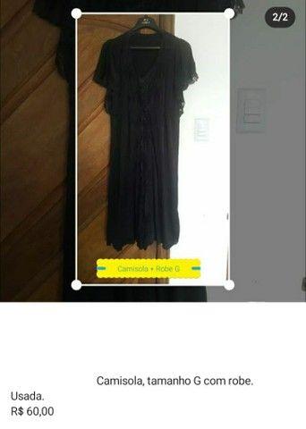 Camisola com Robe - Foto 2